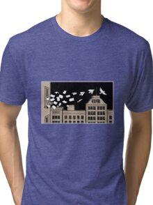 Paper Birds Tri-blend T-Shirt