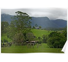 Farming Near the Rainforest Poster