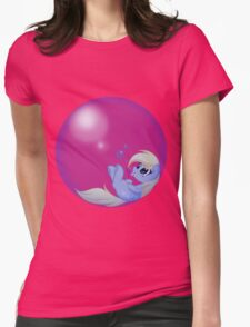 Derp Bubble Womens Fitted T-Shirt