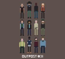 Pixel Outpost 31 Crew by Jetpacksquirrel