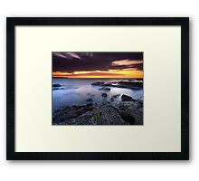 """""""Each Passing Moment"""" ∞ Shellharbour, NSW - Australia Framed Print"""