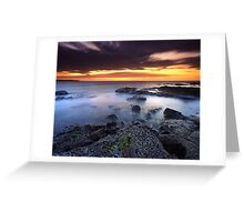 """""""Each Passing Moment"""" ∞ Shellharbour, NSW - Australia Greeting Card"""