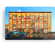 Five Pointz Graffiti Building: Queens, NYC Metal Print