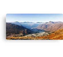 Frosty Langdale Canvas Print