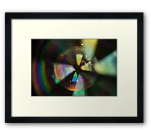 Bubble Abstract (Surrelity) Framed Print