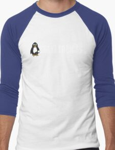 Shake Yo Dicks - Penguin - White Men's Baseball ¾ T-Shirt