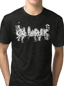 one ok rock white Tri-blend T-Shirt
