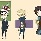 Sherlock Army by Bskizzle