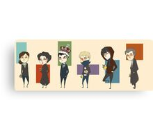 Sherlock Army Canvas Print