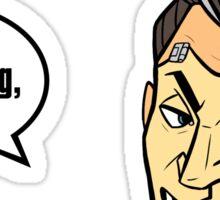 Handsome Jack Sticker Sticker