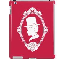 Tuxedo Silhouette iPad Case/Skin