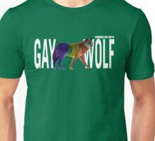Gay Wolf - Split Text Unisex T-Shirt