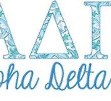 Alpha Delta Pi Lilly Pulitzer by JuliaKay23
