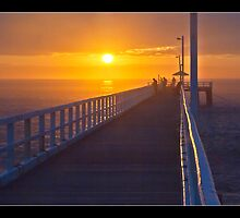 Point Lonsdale Sunrise by Don Stott
