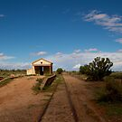 Abondoned Outback Train Station by Stephen Monro
