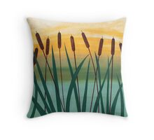 By The River II Throw Pillow