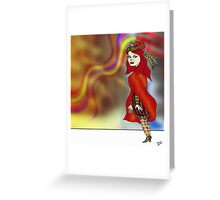 Rainbow Country Greeting Card