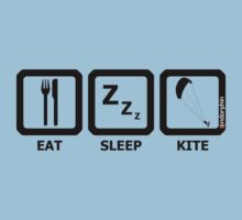 Eat Sleep Kite Baby Tee