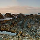 Dusky Rocks Pano by bazcelt