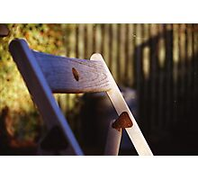 Folding Chair  Photographic Print