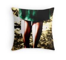 A Farmer's Lingerie  Throw Pillow