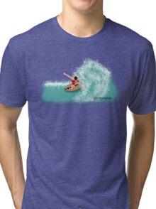 Skimboarder Tri-blend T-Shirt