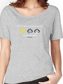 Weather Women's Relaxed Fit T-Shirt