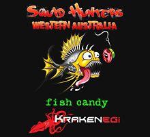 Squid Hunters WA & Fish Candy Kraken Jigs Unisex T-Shirt