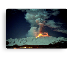 Fire in the night (RB Explore Featured) Canvas Print
