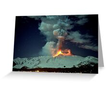 Fire in the night (RB Explore Featured) Greeting Card
