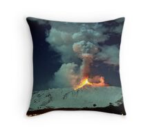 Fire in the night (RB Explore Featured) Throw Pillow