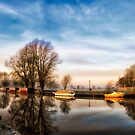 Misty Start, Beccles, Suffolk by Simon Duckworth