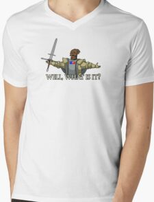 Giant Dad - Well, What Is It? Mens V-Neck T-Shirt