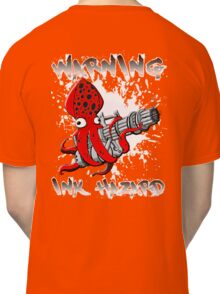 Squid Hunters Ink Hazard Classic T-Shirt