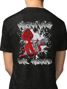 Squid Hunters Ink Hazard Tri-blend T-Shirt