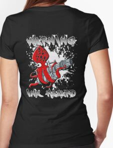 Squid Hunters Ink Hazard Womens Fitted T-Shirt