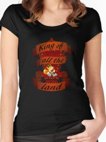 King Women's Fitted Scoop T-Shirt