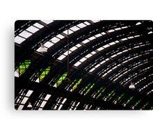 Milan train station dome Canvas Print