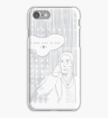 boy just calls to say iPhone Case/Skin