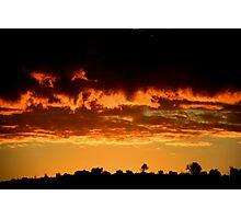 sunrise on jerusalem hills. Photographic Print