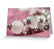 Beads Greeting Card