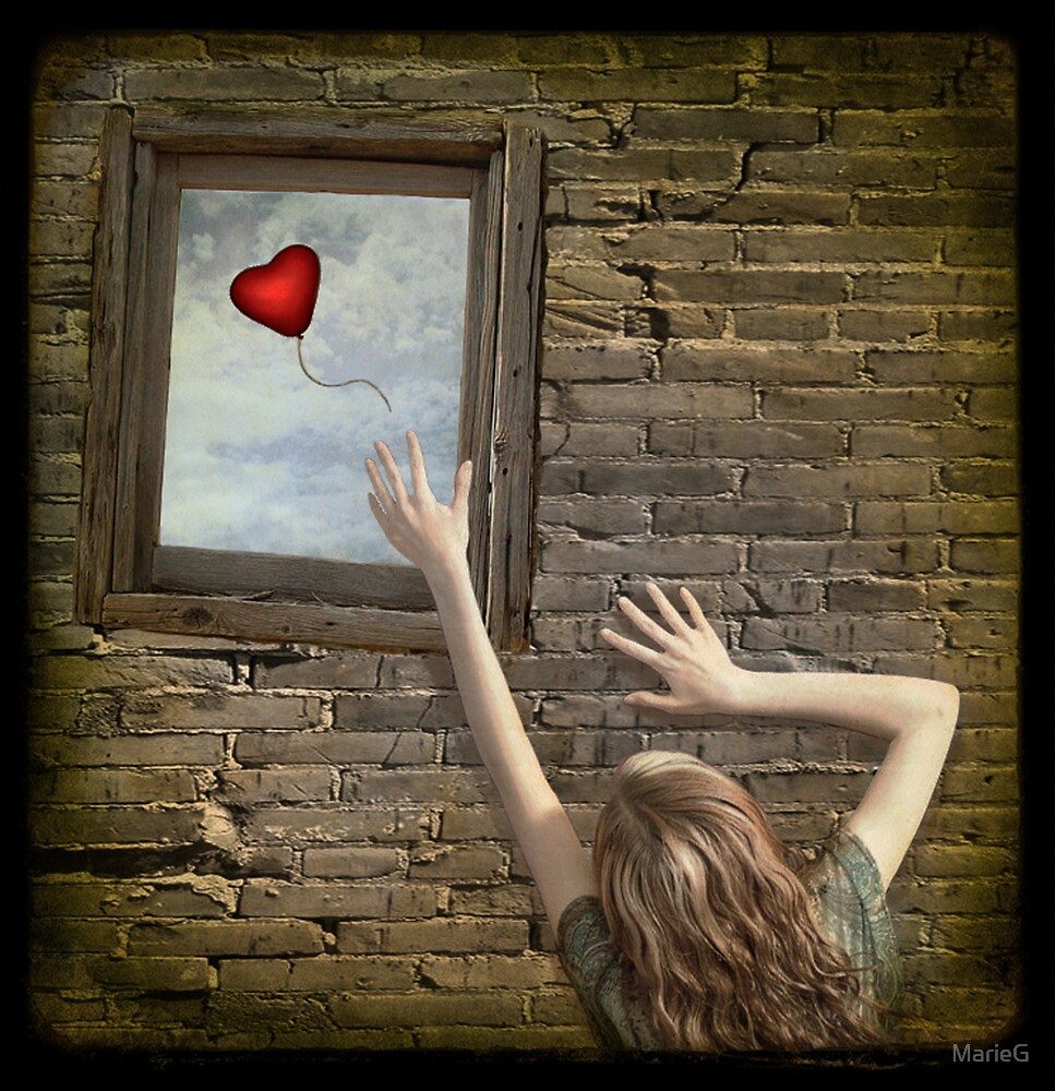 Lonely heart by MarieG