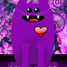 PURPLE CAT by peter chebatte