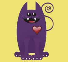 PURPLE CAT Kids Clothes