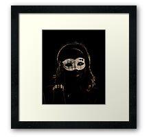 Masked Midnight Framed Print