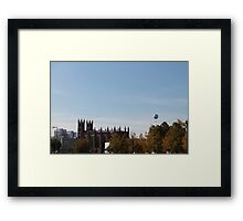 View over Berlin in October Framed Print