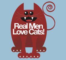 REAL MEN LOVE CATS Baby Tee