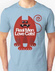 REAL MEN LOVE CATS Unisex T-Shirt