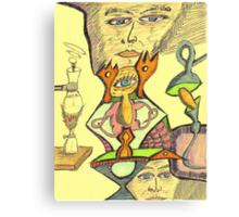 gene e + Canvas Print