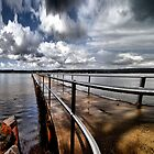 Ole Jetty by Andrew Woodman